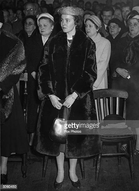 Princess Christina of Hesse in the congregation