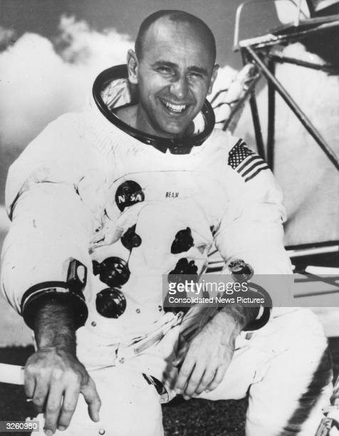 Alan L Bean the Skylab 3 commander one of the three astronauts due to be launched today from Cape Kennedy to spend nine weeks aboard Skylab on the...