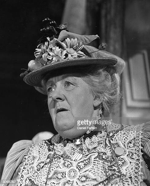 Margaret Rutherford plays 'Miss Prism'' in a film adaptation of Oscar Wilde's play 'The Importance Of Being Earnest' Original Publication Picture...