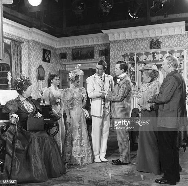The final scene from Anthony Asquith's screen adaptation of Oscar Wilde's play, 'The Importance Of Being Earnest'. Starring Edith Evans , Dorothy...