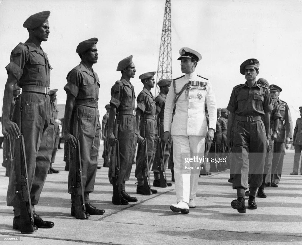 Mountbatten On Parade : News Photo