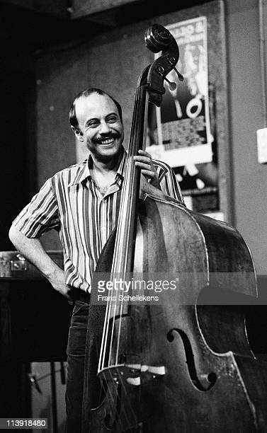 28th MAY: Bass player Harry Miller performs at the BIMhuis in Amsterdam, Netherlands on 28th May 1983.