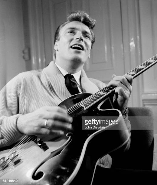 28th November 1962 Frank Ifield at the time he was at number one in the UK charts with 'Lovesick Blues' a country and western number which showcased...