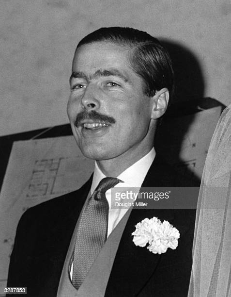 Lord Lucan aristocrat and alleged murderer on his wedding day