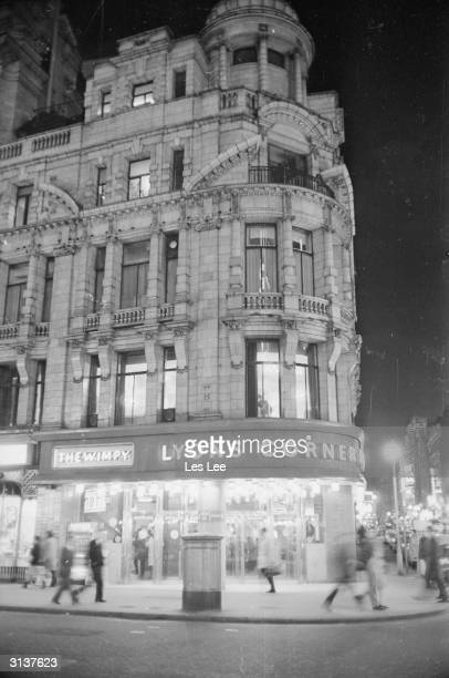 The Lyons Corner House on Coventry Street and Rupert Street in Piccadilly London It has been home to the first ever Wimpy Bar since 1954