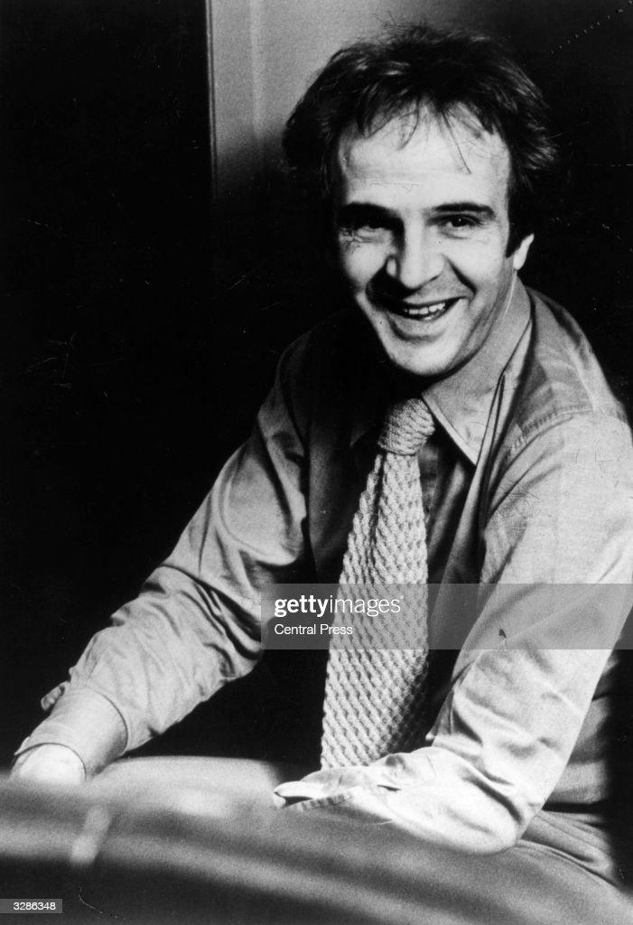 The French film maker Francois Truffaut (1932 - 1984).