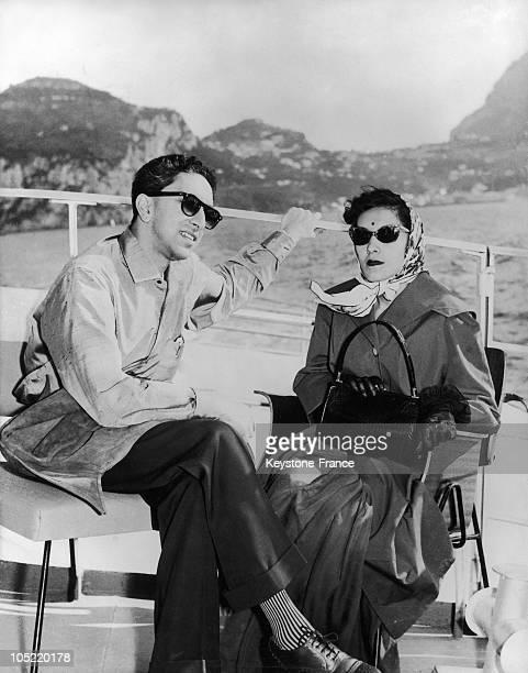 28Th Of July 1958 Capri King Mahendra Of Nepal And Queen Ratna Rajya Laxmi Devi Shah