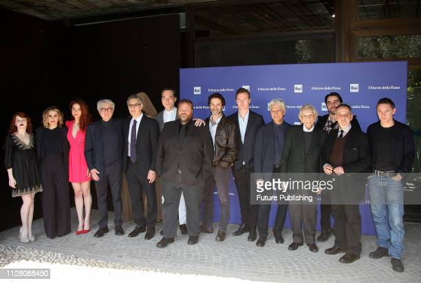 The cast attends the photocall for Il nome della rosain Rome RAVAGLIPHOTOPHOTOGRAPH BY Marco Ravagli / Barcroft Images