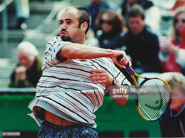 Tennisspieler USA bei den `German Open' in Hamburg