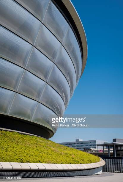 General view of Glasgow showing the SSE Hydro