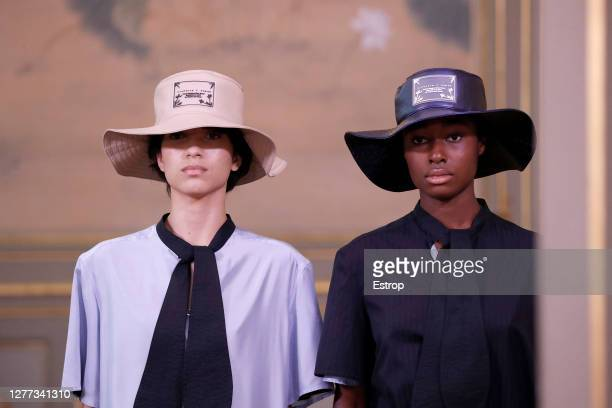 Headshot during the Victoria/Tomas fashion show during Milan Women's Fashion Week Spring/Summer 2021 on September 29 2020 in Paris France