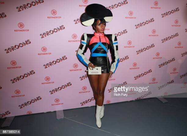 29Rooms Collaborator Janelle Monae attends Refinery29 29Rooms Los Angeles Turn It Into Art Opening Night Party at ROW DTLA on December 6 2017 in Los...