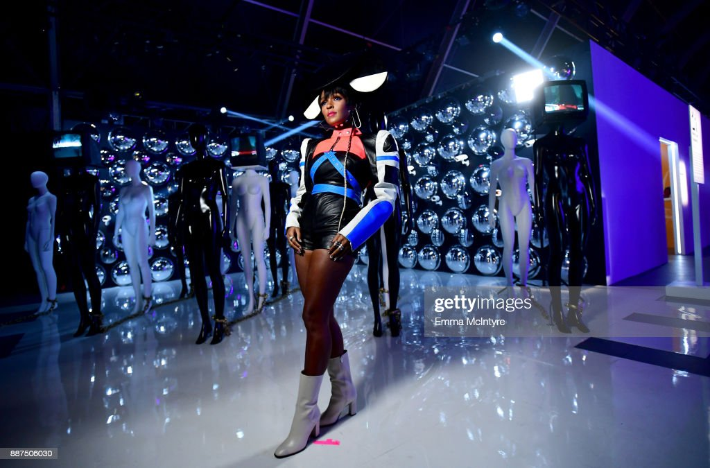 29Rooms Collaborator Janelle Monae attends Refinery29 29Rooms Los Angeles: Turn It Into Art Opening Night Party at ROW DTLA on December 6, 2017 in Los Angeles, California.