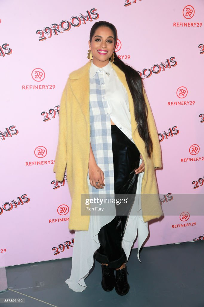 29Rooms Collaborator Lilly Singh attends Refinery29 29Rooms Los Angeles: Turn It Into Art Opening Night Party at ROW DTLA on December 6, 2017 in Los Angeles, California.