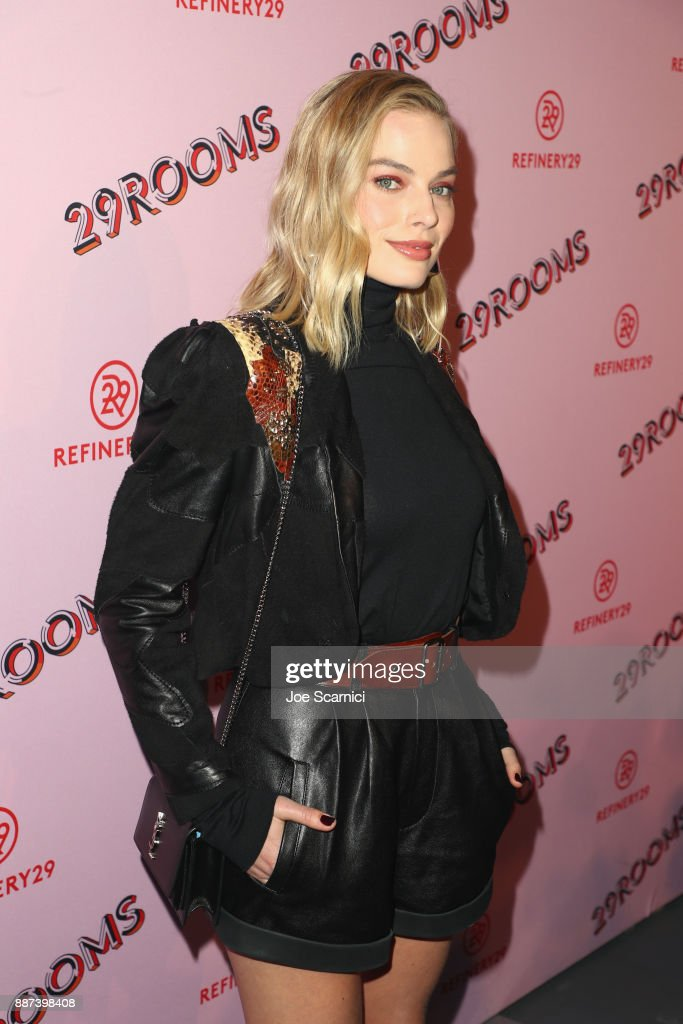 29Rooms Collaborator Margot Robbie attends Refinery29 29Rooms Los Angeles: Turn It Into Art Opening Night Party at ROW DTLA on December 6, 2017 in Los Angeles, California.