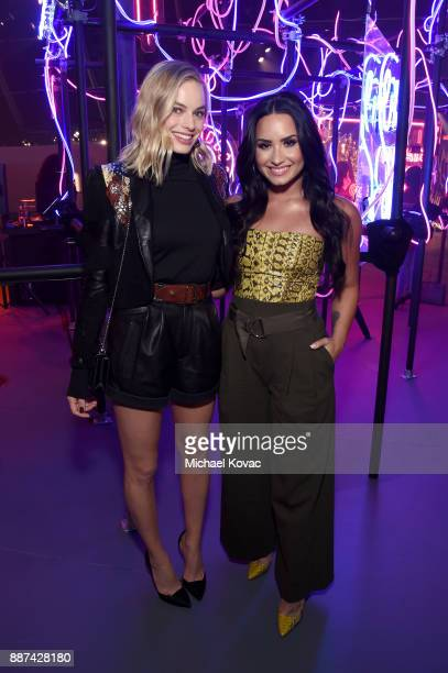 29Rooms Collaborators Margot Robbie and Demi Lovato attend Refinery29 29Rooms Los Angeles Turn It Into Art Opening Night Party at ROW DTLA on...