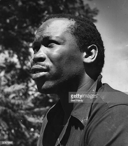 Seretse Khama , Chief Designate of the Bamangwato, whose marriage to Ruth Williams provoked a crisis for the country. He became the first Prime...