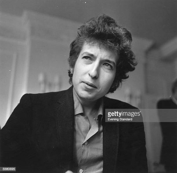 American folk pop singersongwriter Bob Dylan