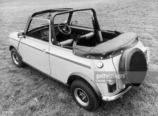 A 6000 custombuilt mini car with a folding roof bought for Princess Diana by her husband Charles for her 21st birthday