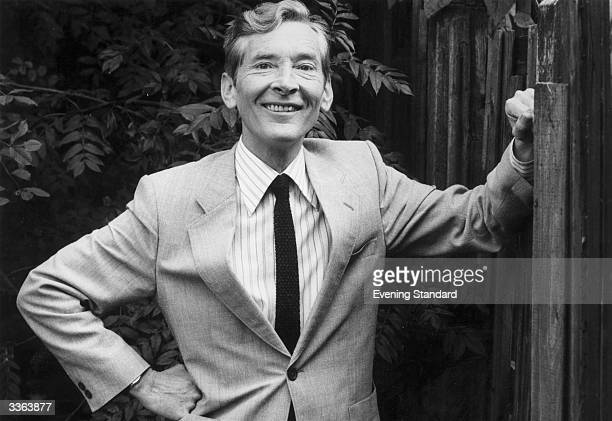 British comic actor Kenneth Williams