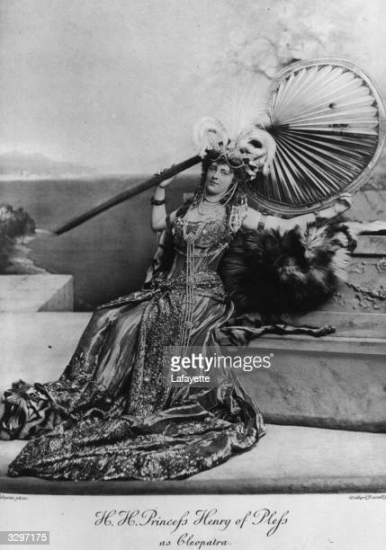 Princess Henry of Pless dressed as Cleopatra for a fancy dress ball at Devonshire House She was divorced in 1922 and died the same year