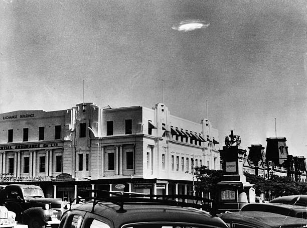 An Unidentified Flying Object in the sky over Bulawayo,...