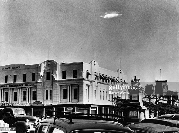 An Unidentified Flying Object in the sky over Bulawayo Southern Rhodesia