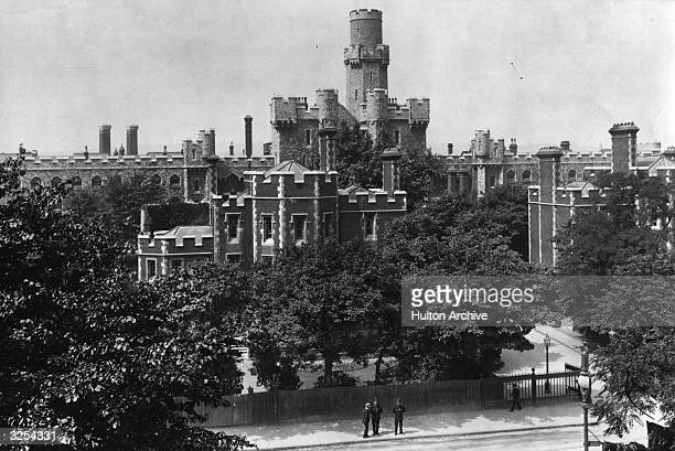 Holloway Prison London and its turrets