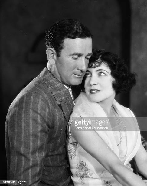 French actress of the silent era Renee Adoree with husband William Gill