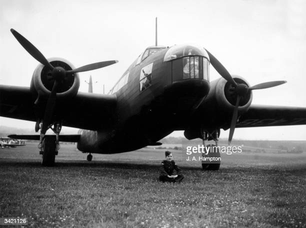 Wellington bomber made by Vickers.