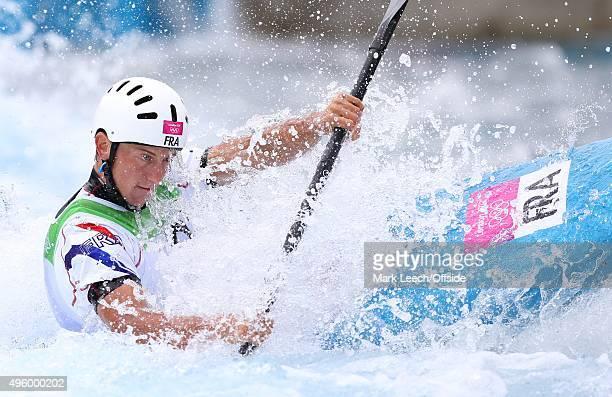29th July 2012 London 2012 Olympic Games Canoe Slalom Kayak Single Men Etienne Daille in action