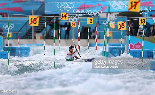 29th July 2012 London 2012 Olympic Games Canoe Slalom Kayak Single Men Scott Parsons in action