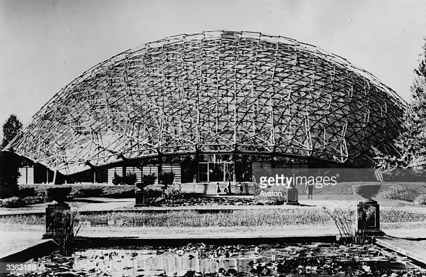 The 'world's most unusual greenhouse' at the botanical gardens in St Louis Missouri It received the 1961 national Memorial Award for its originality...