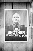 29th june 1965 a poster with the famous words big brother is watching picture id3063572?s=170x170