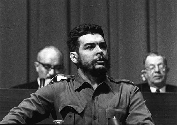 Argentine Communist revolutionary leader Ernesto Che...