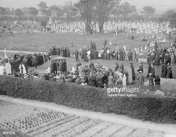 Funeral of Folkestone airraid victims