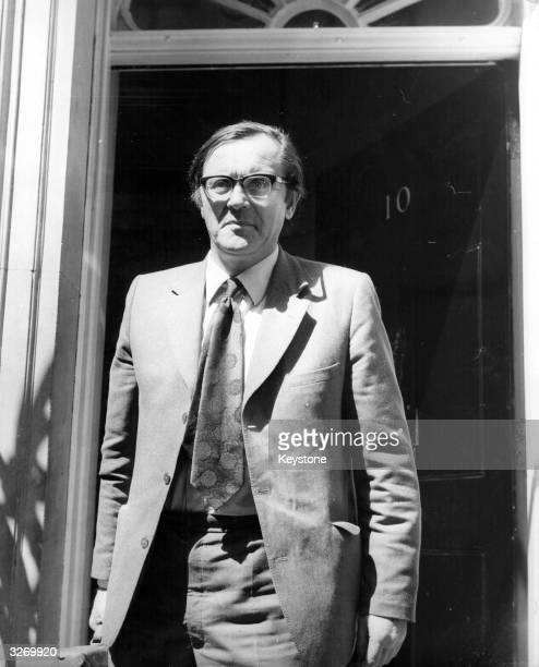 Labour Secretary of State for Northern Ireland Merlyn Rees arriving at 10 Downing Street London for an emergency meeting on the situation in Norther...