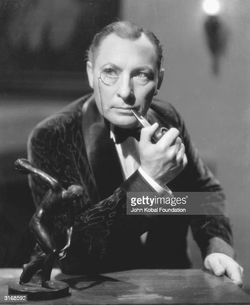 English stage and screen actor Lionel Atwill .