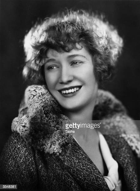 American film actress Miriam Hopkins born Ellen Miriam Hopkins who is currently appearing in 'The Bachelor Father' at the Strand Theatre London