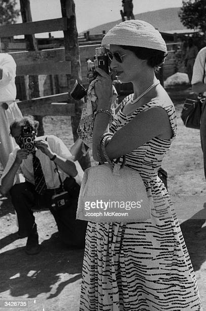 Princess Margaret Rose at a game farm in Tanganyika during her royal tour of East Africa Original Publication Picture Post 8691 Princess Margaret's...