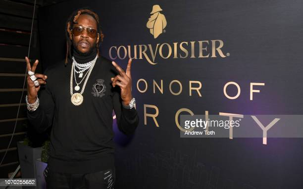 2Chainz attends the Courvoisier Cognac In Honor of Your City event during Art Basel Miami on Saturday December 8 2018 2Chainz performed at the event...