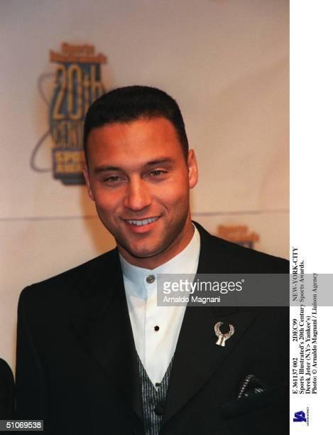 E 361137 002 2Dec99 NewYorkCity Sports Illustrated's 20Th Century Sports Awards Derek Jeter