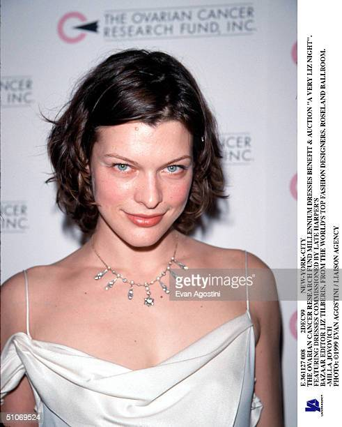 E 361127 008 2Dec99 NewYorkCity The Ovarian Cancer Research Fund Millennium Dresses Benefit Auction 'A Very Liz Night' Featuring Dresses Commissioned...