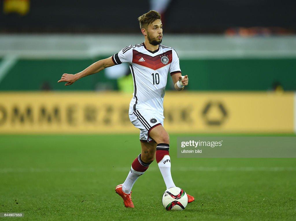 Fussball U 21 Laenderspiel Deutschland - Italien : News Photo