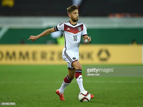 Fussball U21 LänderspielDeutschland Italien 22Moritz Leitner