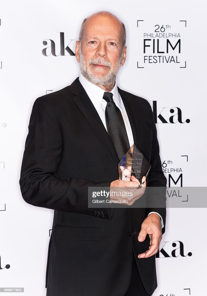 2nd annual Lumiere Award recipient Bruce Willis attends the 2nd Annual Lumiere Award Celebration during The 26th Philadelphia Film Festival at AKA Washington Square on October 26, 2017 in Philadelphia, Pennsylvania.