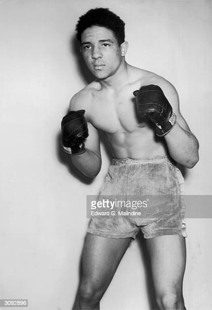 Randolph Turpin of Leamington Spa former ABA middleweight champion and future world middleweight champion