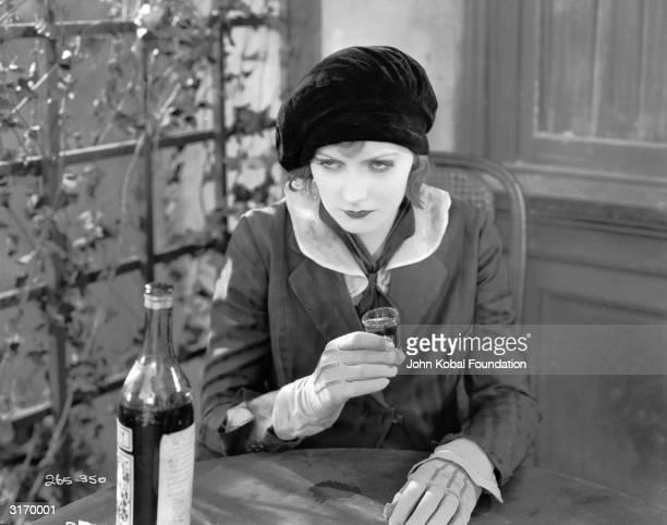 Swedish born American actress Greta Garbo in her second film in America 'The Temptress'