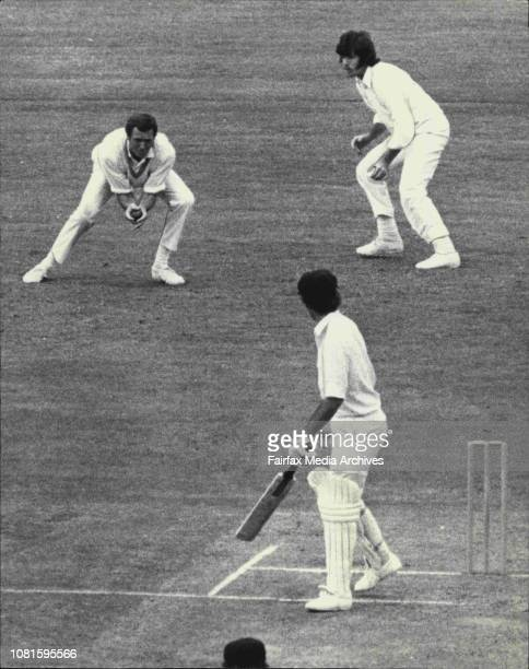 2nd Cricket Test at SCGAustralia Vs New ZealandG Chappell caught for a duck by Coney off bowling by AndrewsNew Zealand's second slip hero Jeremy...