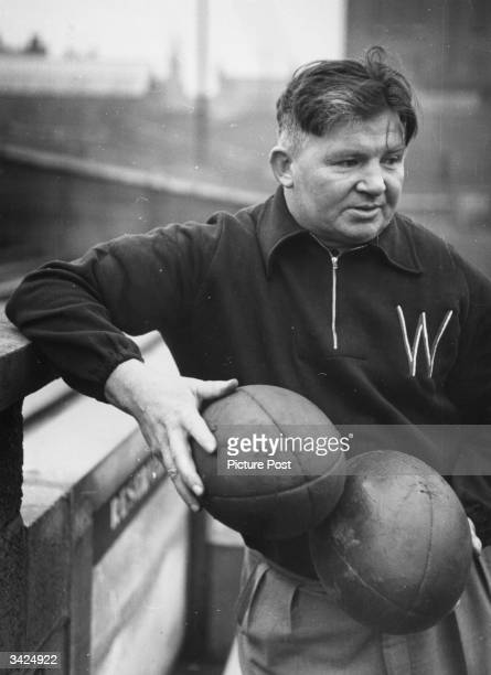 Jim Sullivan former player turned trainercoach for the Wigan Rugby League team Original Publication Picture Post 5165 Wigan Rugby Football pub1950